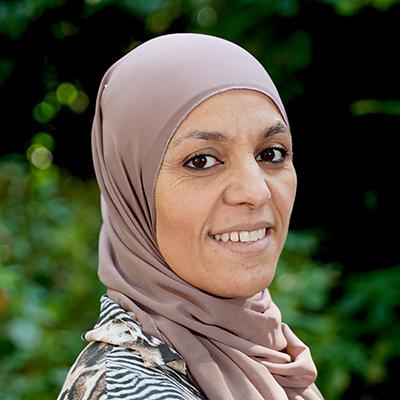 Sakina Bouyachfar west bos en lommer